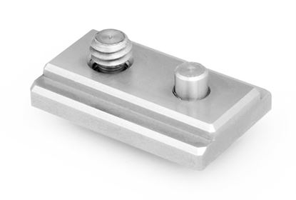 Picture of Universal Baseplate Camera T-Slide with ¼-20 and locking pin