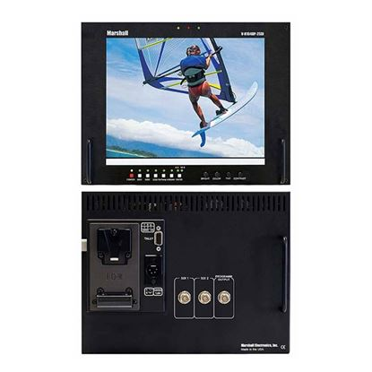 Picture of V-R104DP-2SDI Stand alone 10.4' LCD Monitor with 2 SDI inputs